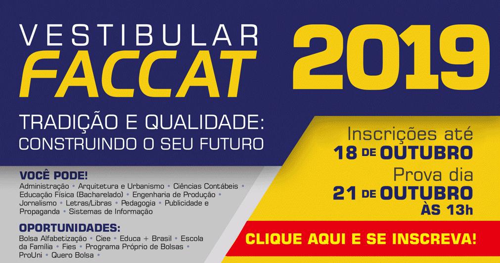 Vestibular Faccat 2019