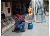 Alunos de Engenharia de Segurança do Trabalho visitam o Corpo de Bombeiros